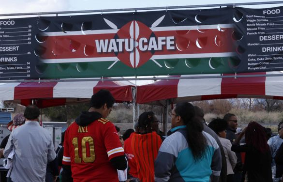 Kenyan food is a big hit at Rugby Sevens